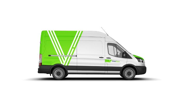 A long wheel base van from hire fleet - Bawtrys rental agency serving Yorkshire, Nottinghamshire & Lincolnshire