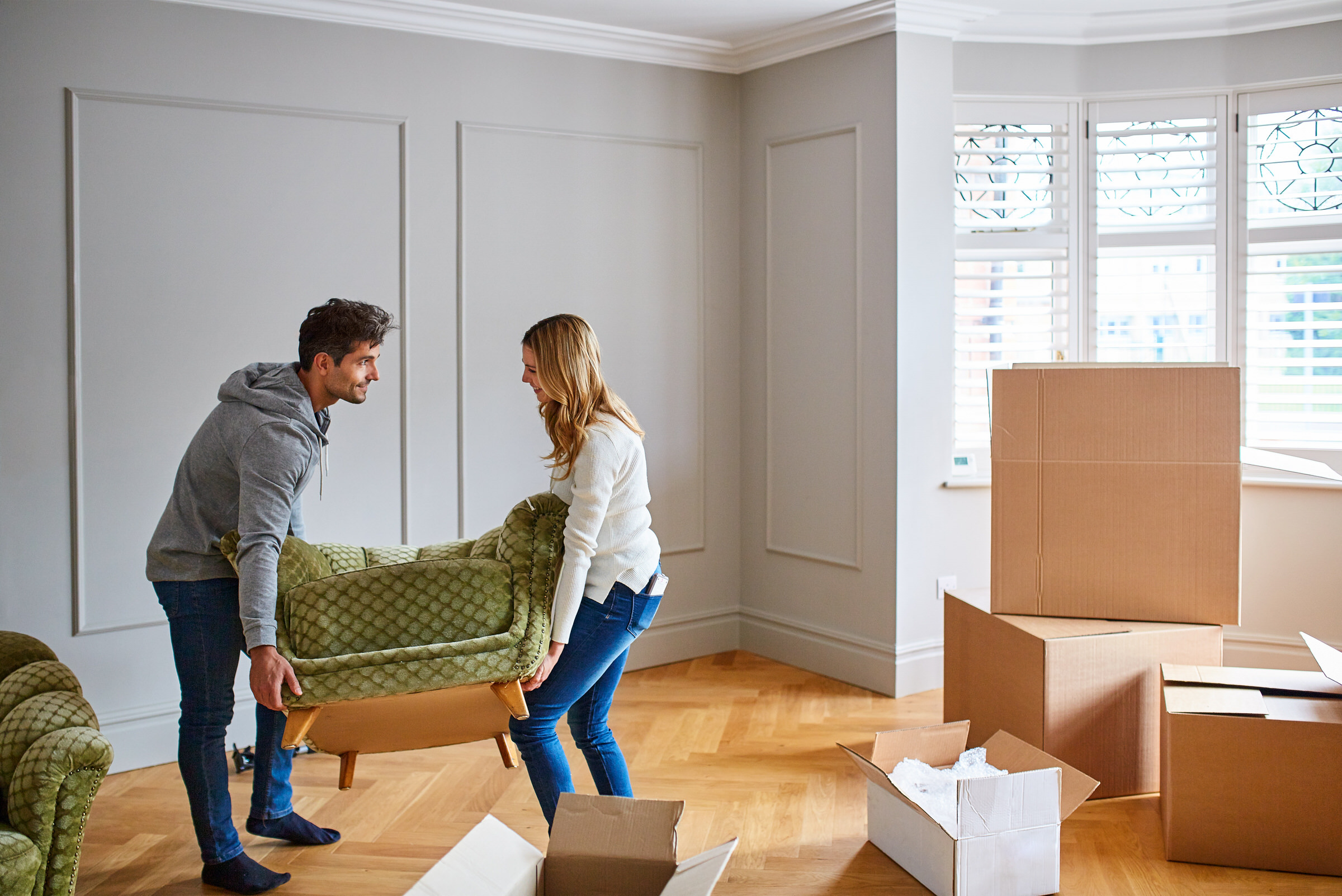 House moving made easy with a luton van from hire fleet