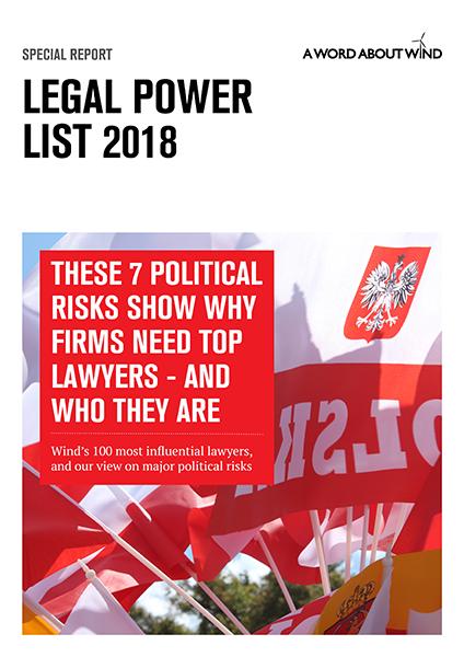 Legal Power List 2018