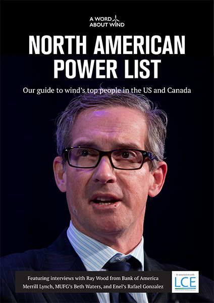 Wind Industry Report: North American Power List 2018