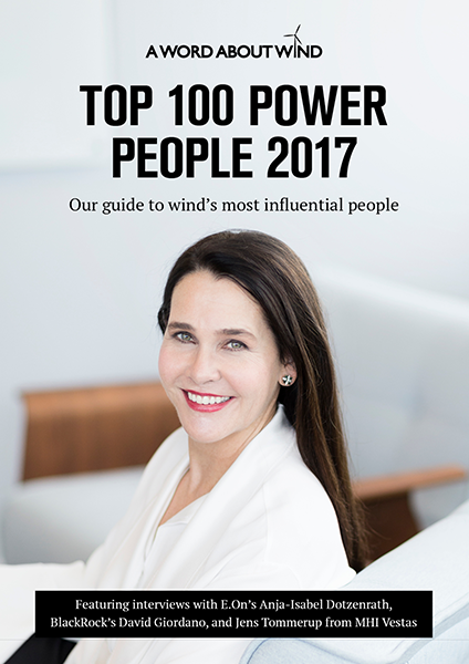The Top 100 Power People in Wind 2017