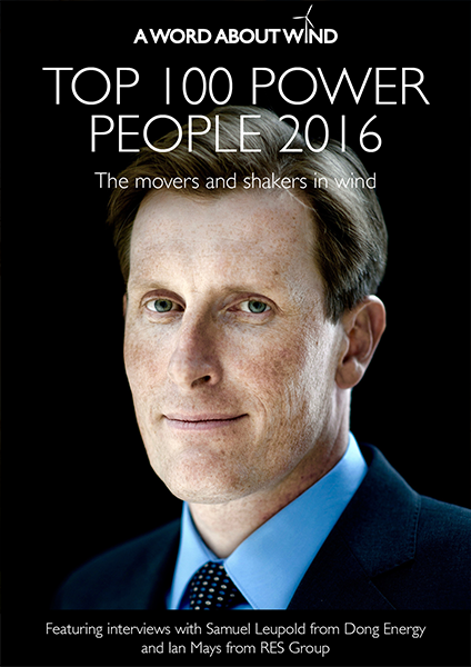 The Top 100 Power People in Wind 2016