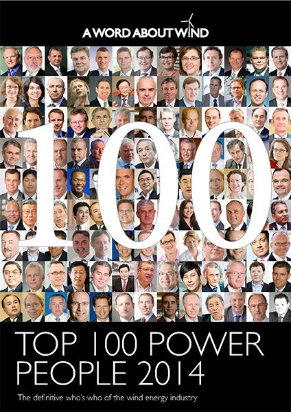 The Top 100 Power People In Wind 2014