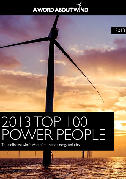 The Top 100 Power People In Wind 2013