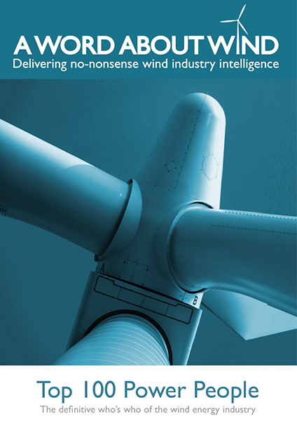 The Top 100 Power People In Wind 2012