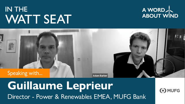 Guillaume Leprieur - Director - Power & Renewables EMEA, MUFG Bank
