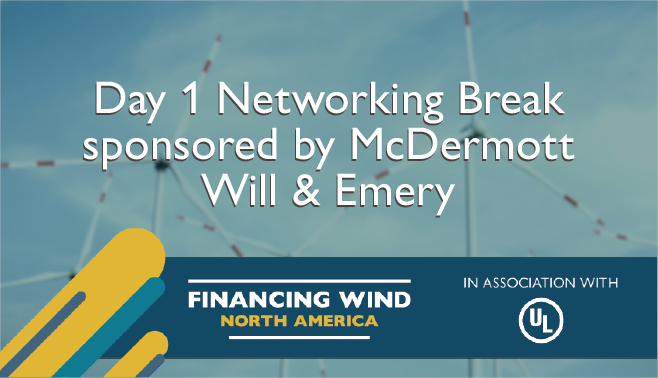 Networking Break sponsored by McDermott Will & Emery