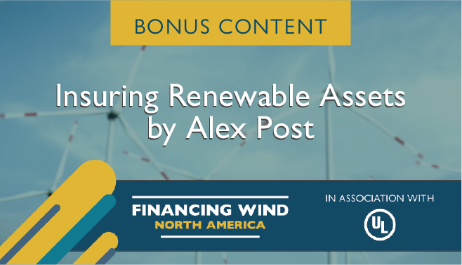 Insuring renewable assets by Alex Post