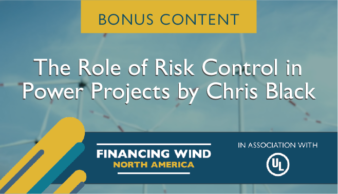 The role of risk control in power projects by Chris Black