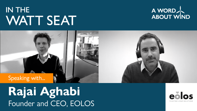 Rajai Aghabi - Founder and CEO - EOLOS Floating Lidar Solutions