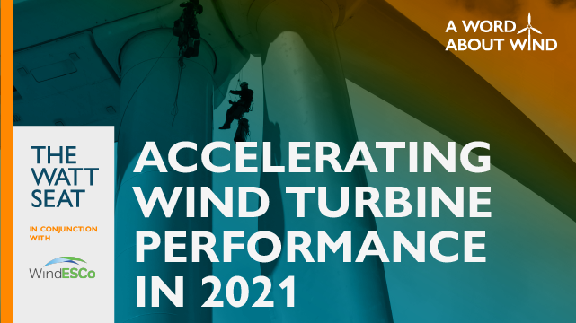 Accelerating Wind Turbine Performance in 2021
