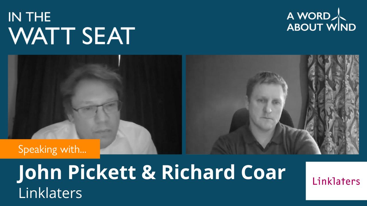 John Pickett and Richard Coar - Partners, Linklaters