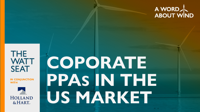 Corporate PPAs in the US Market