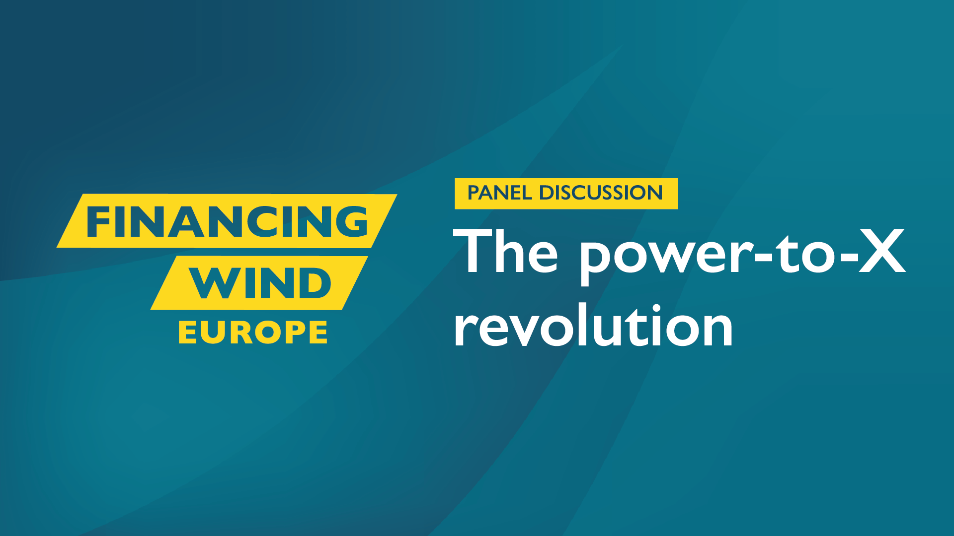 Panel Discussion: The power-to-X revolution