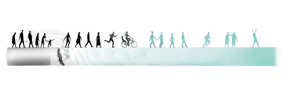 Optimistic Evolution Illustration