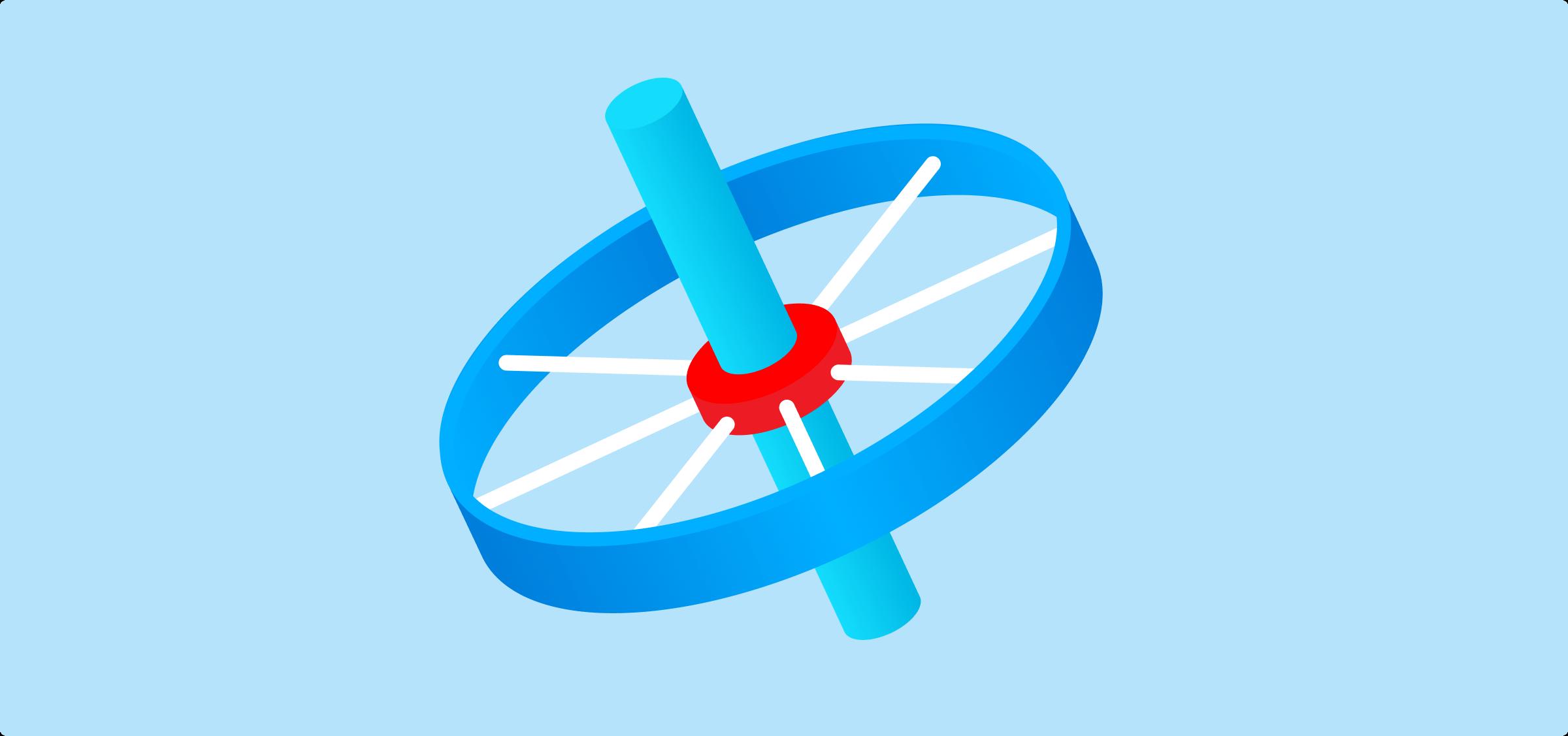 Wheel hub and spokes