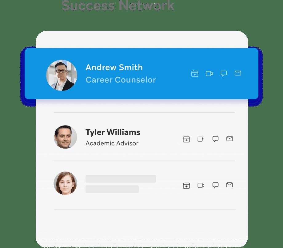Student success network for better retention