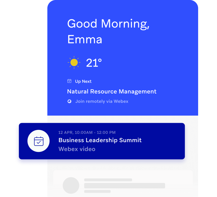 Personalized student dashboard on remote campus app
