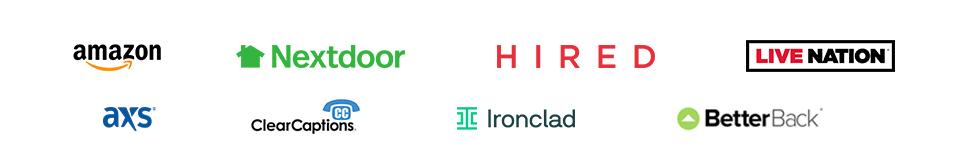 Paid Client Logos