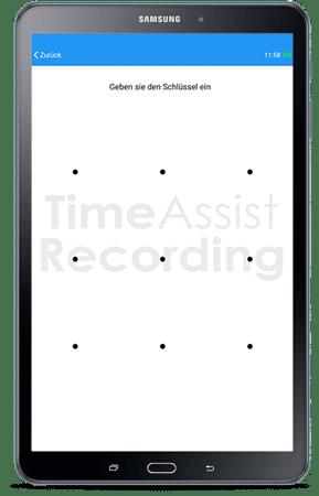 Tablet für TimaAssist App