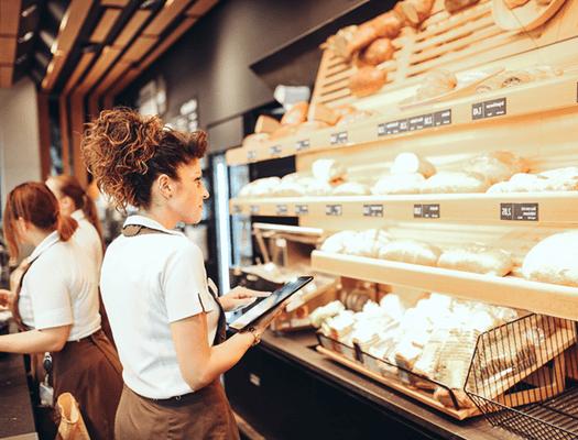 CashAssist Filiale Bestellsystem für Bäckerei kann auf jedes Android basierte Gerät heruntergeladen werden
