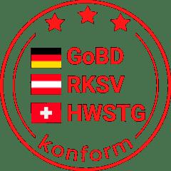 GOBP-RKSV-HWSTG-Finanzkonform Kasse Stamp