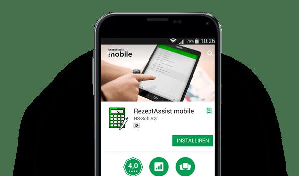 Rezept Mobile App in Action