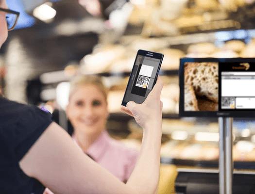 CashAssist Bäckerei Kundenkartensystem im Confiserie Bachmann
