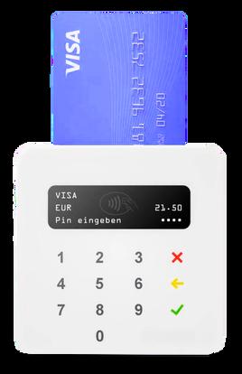 Bargeldlos bezahlen Terminal SumUp mit CashAssist Kassensystem