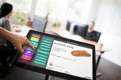 Innovation von HS-Soft — CashAssist Infoterminal für Ihrer Kunden