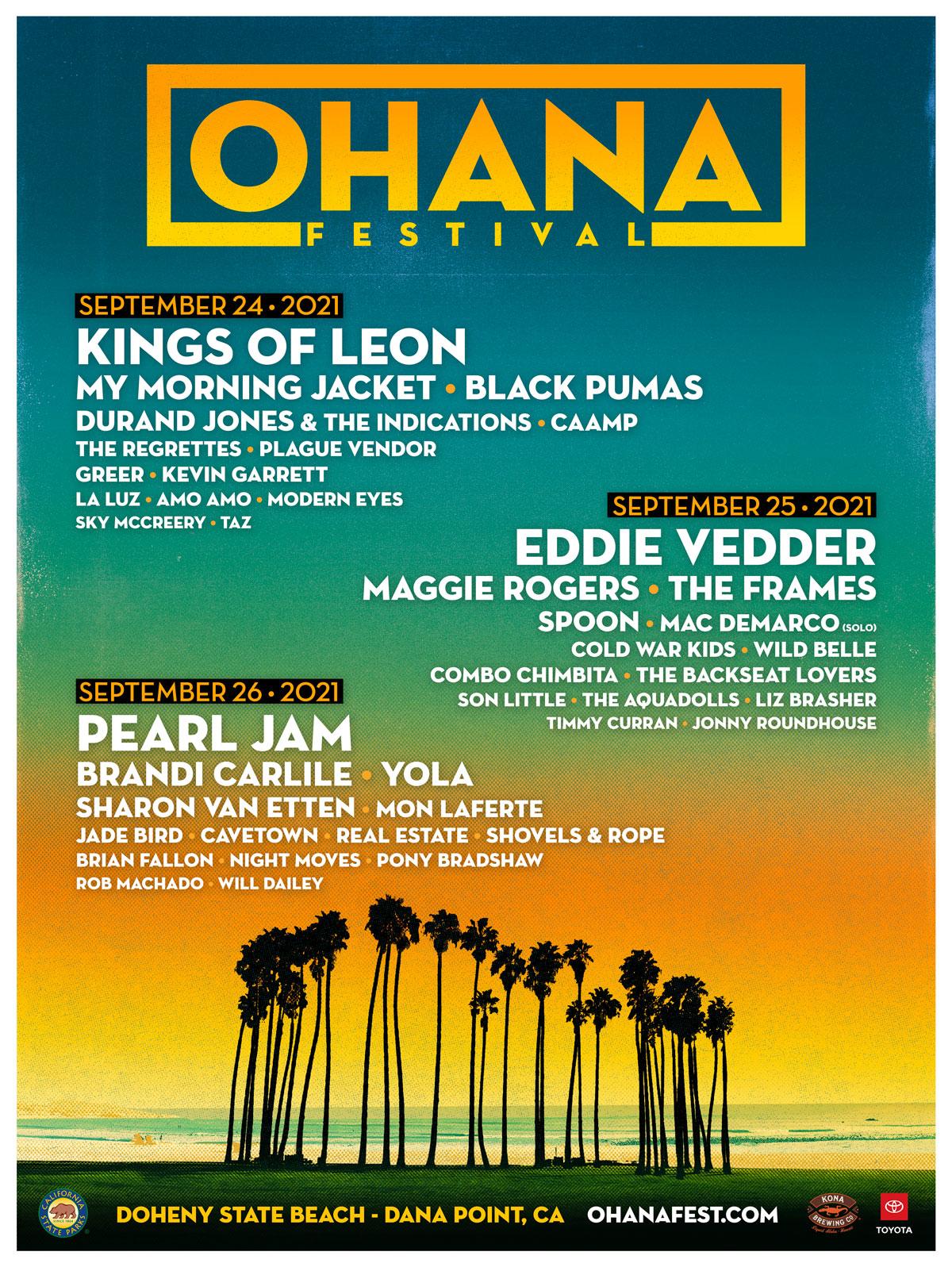 ohana fest lineup