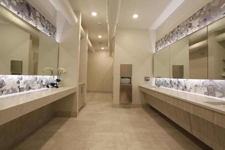 Vault's beautiful bathroom