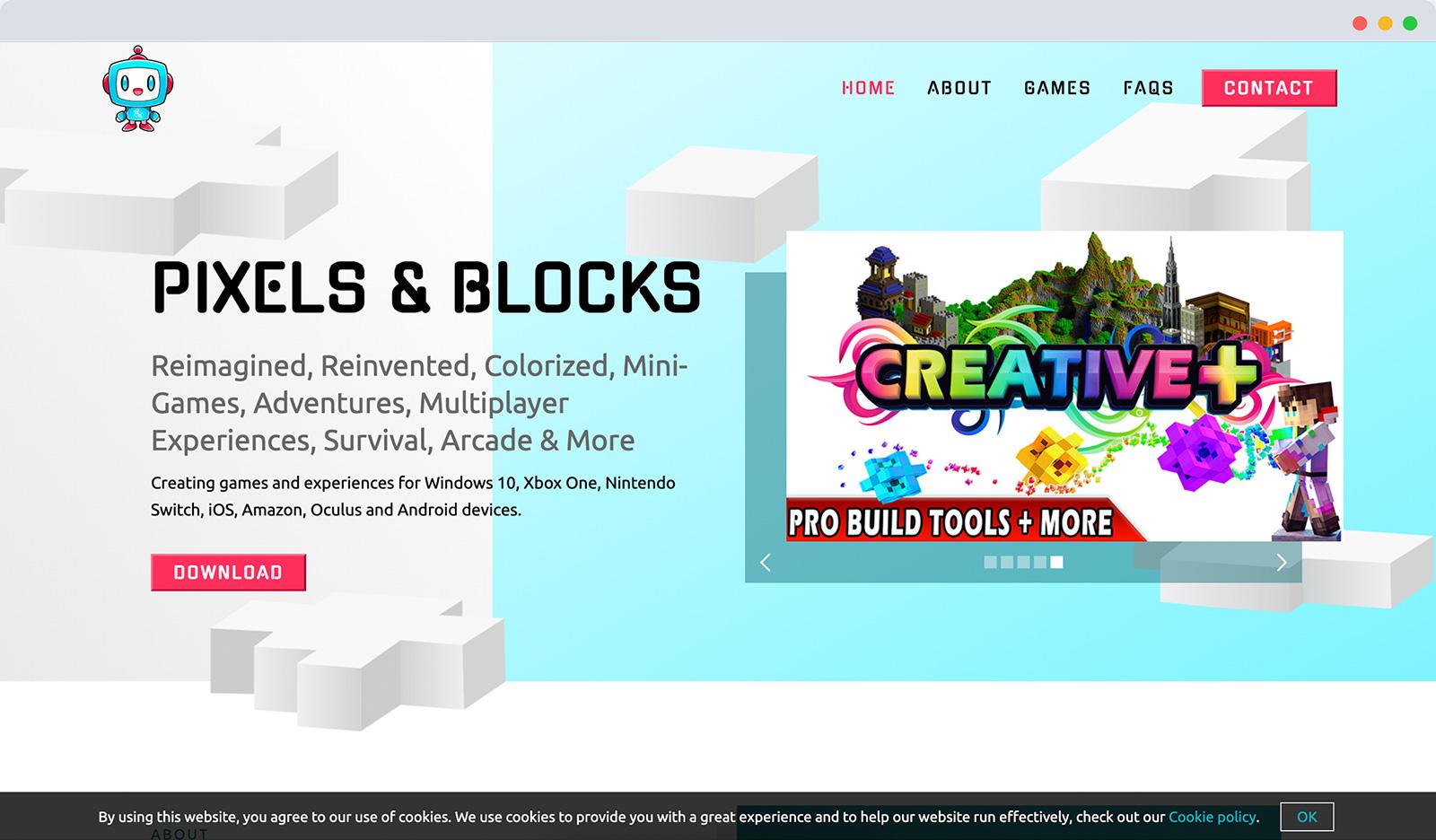 Pixels and Blocks