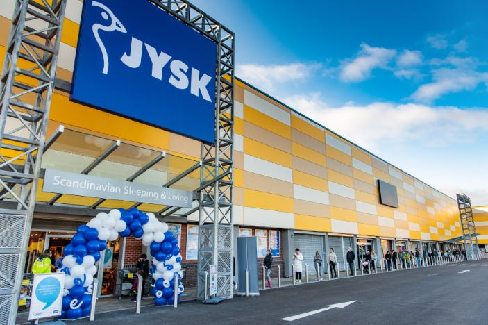 Jysk opens largest uk store to date