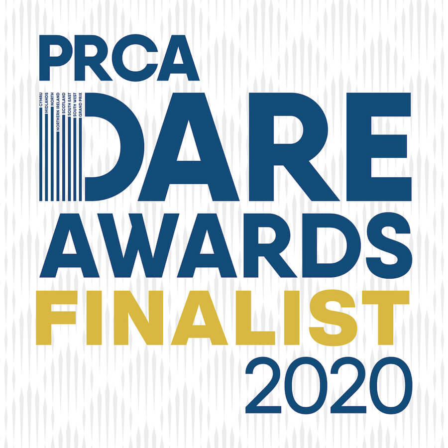 Hat-trick for PRCA Dare Awards 2020