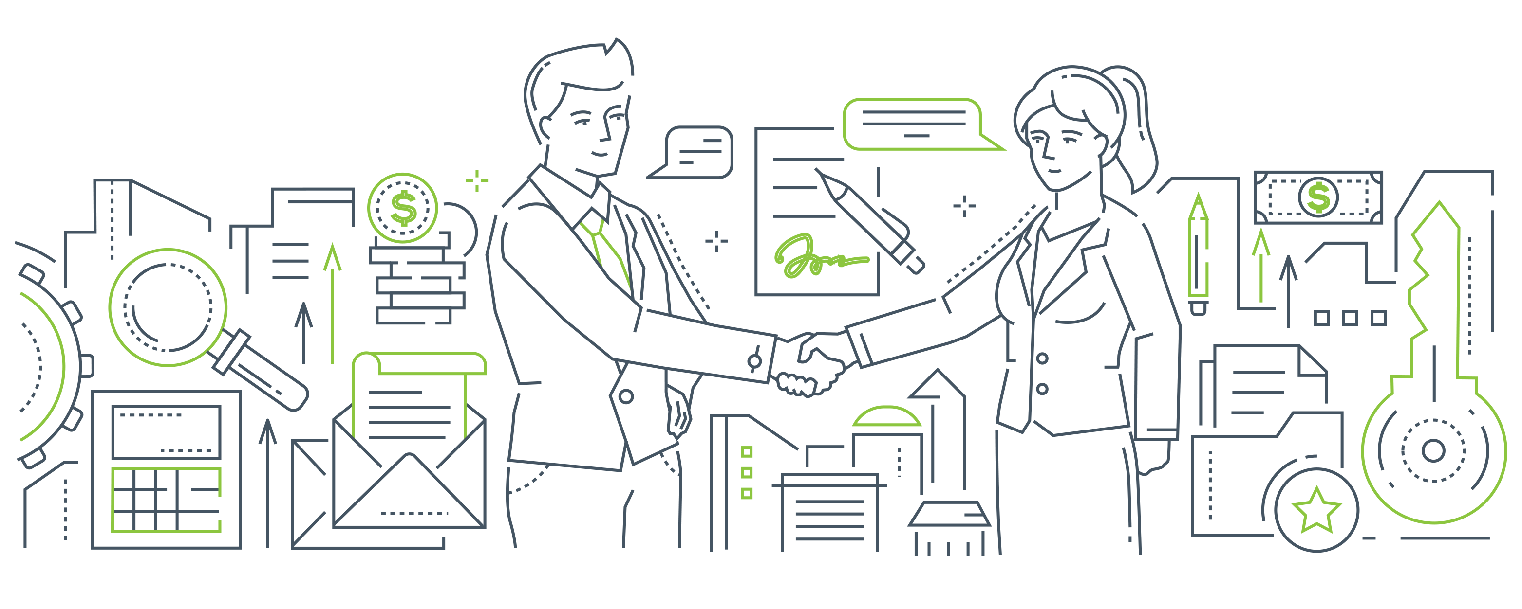 Start signing customers from day with with a JV partnership