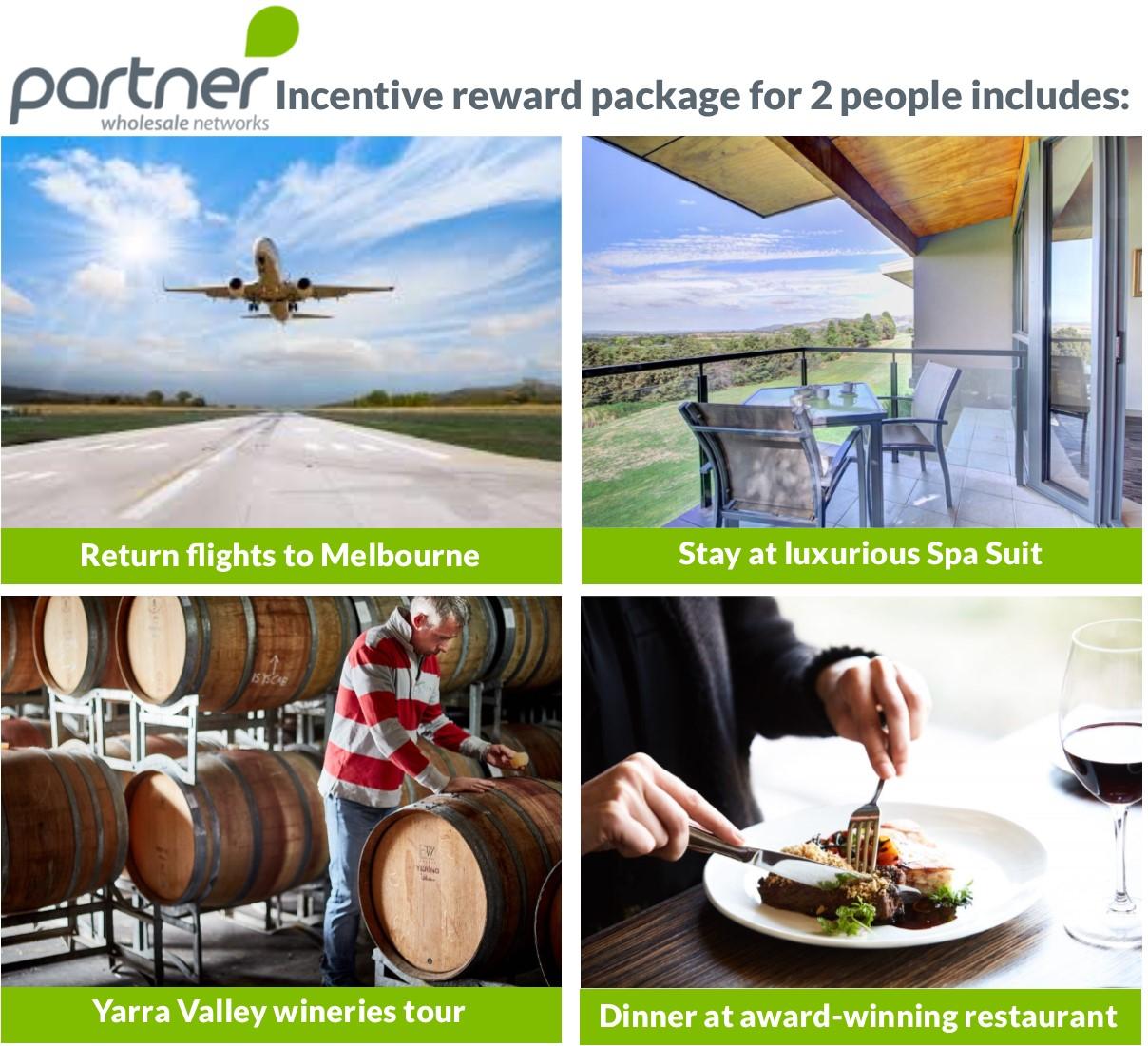 PWN Spring Incentive reward package