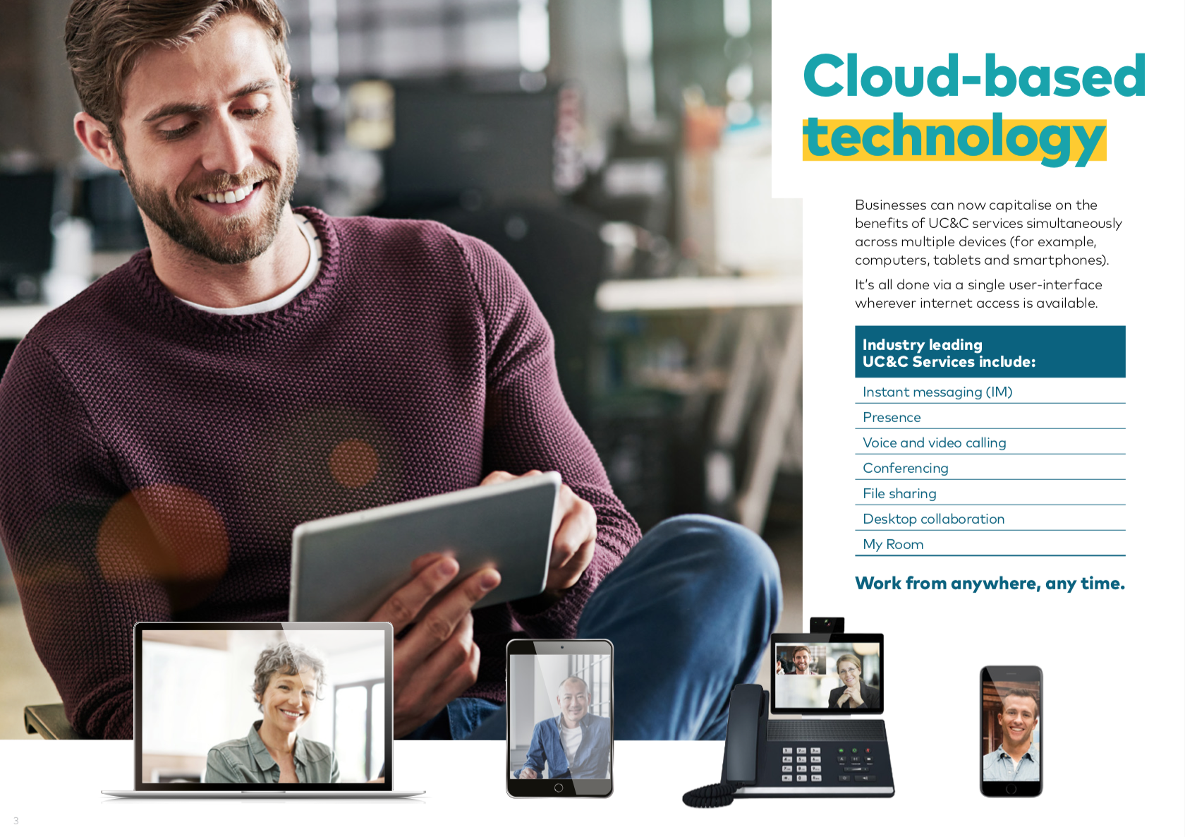 Cloud Based Technology UC&C Services