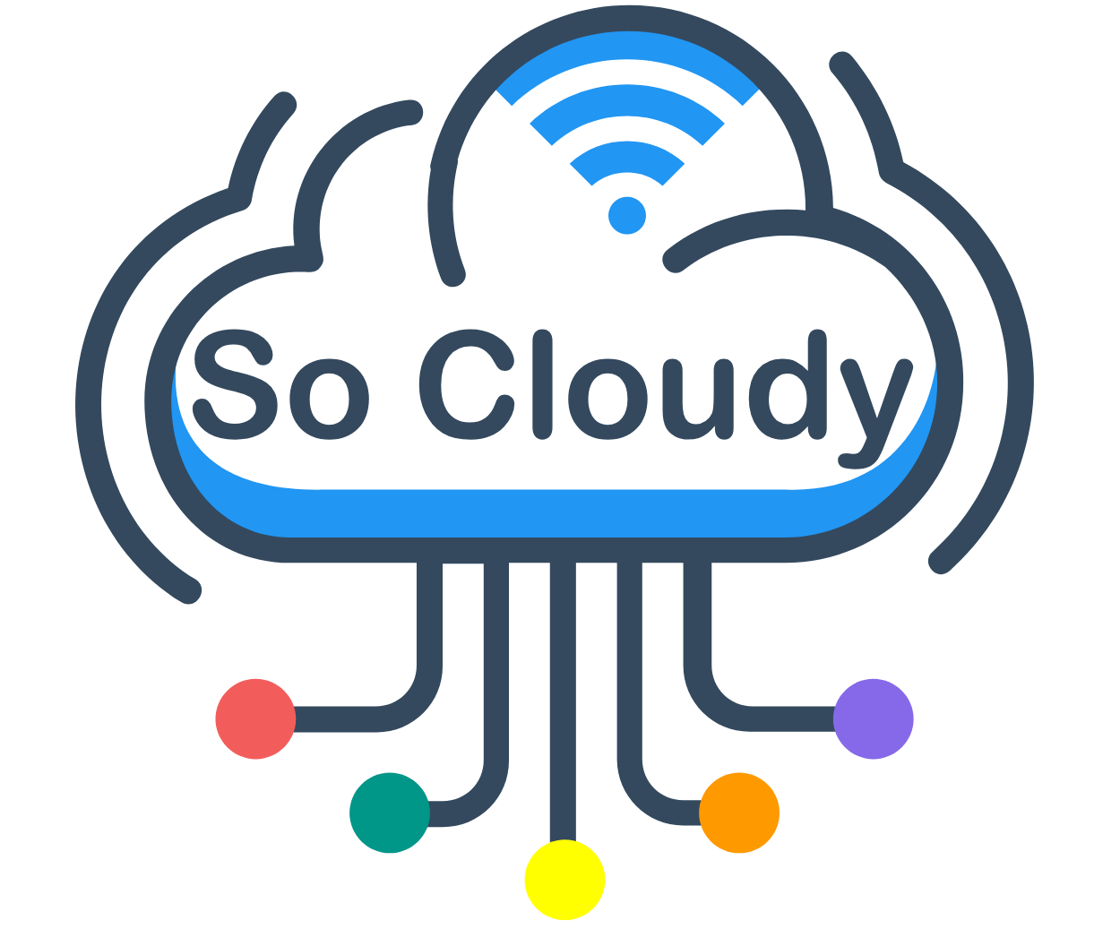 So Cloudy Logo