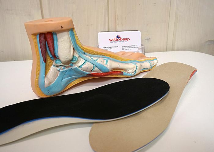fotsenger og innleggsåler fra Wollenbergs ortopedi as