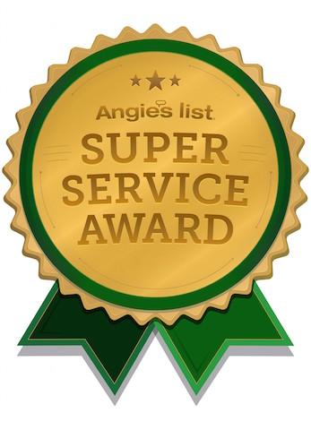 angies super service award winner