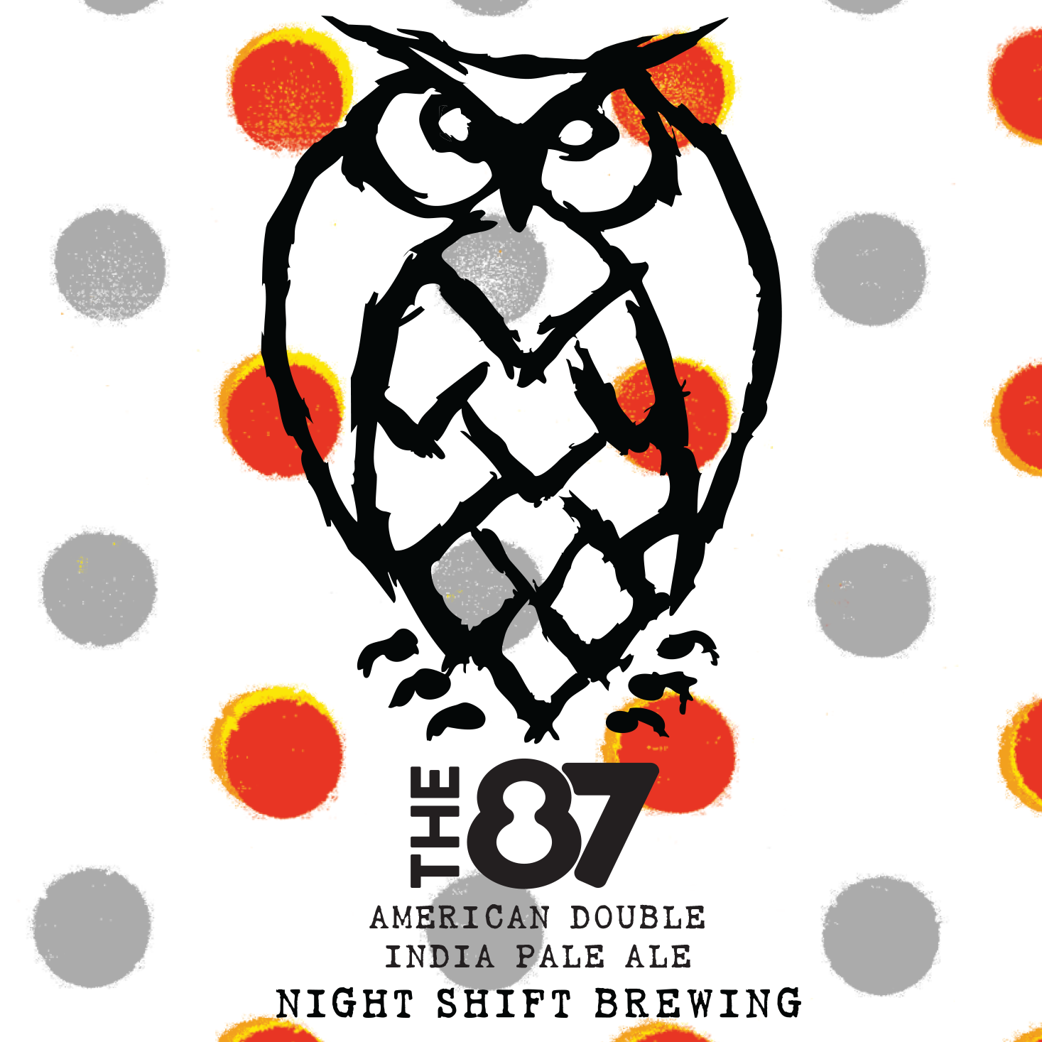 NightShift Brewing Co. – 87 Label Design