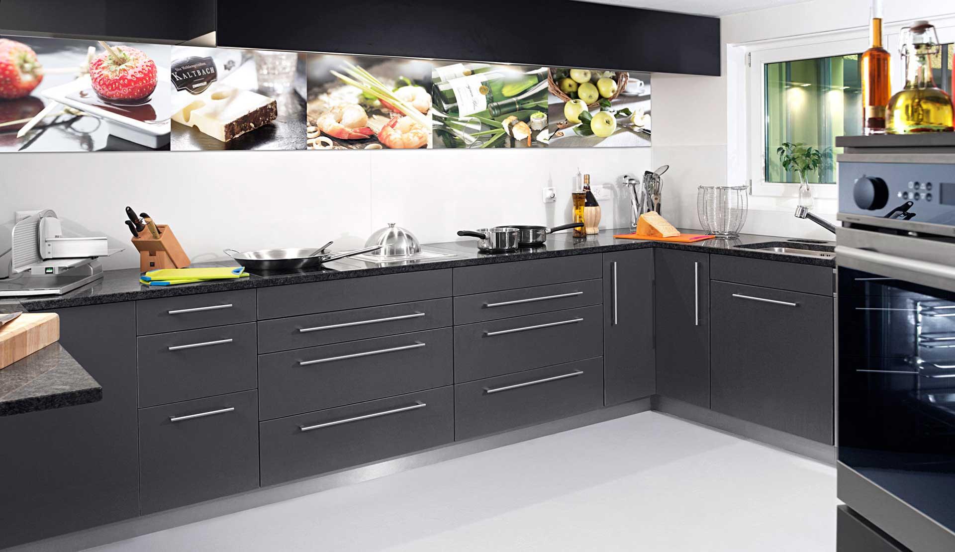 Fotostudio mit Küche für Foodstyling