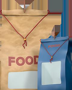 Food Photo Packshot frontal