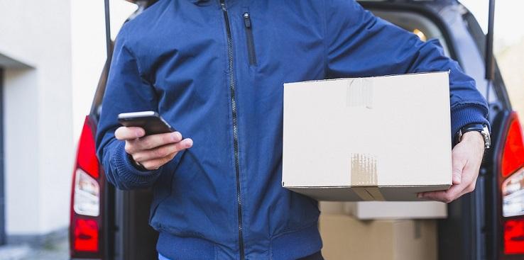 Logística de loja virtual que resulta em vendas