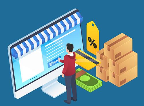 Tenho um e-commerce e quero enviar mercadorias. Como fazer?