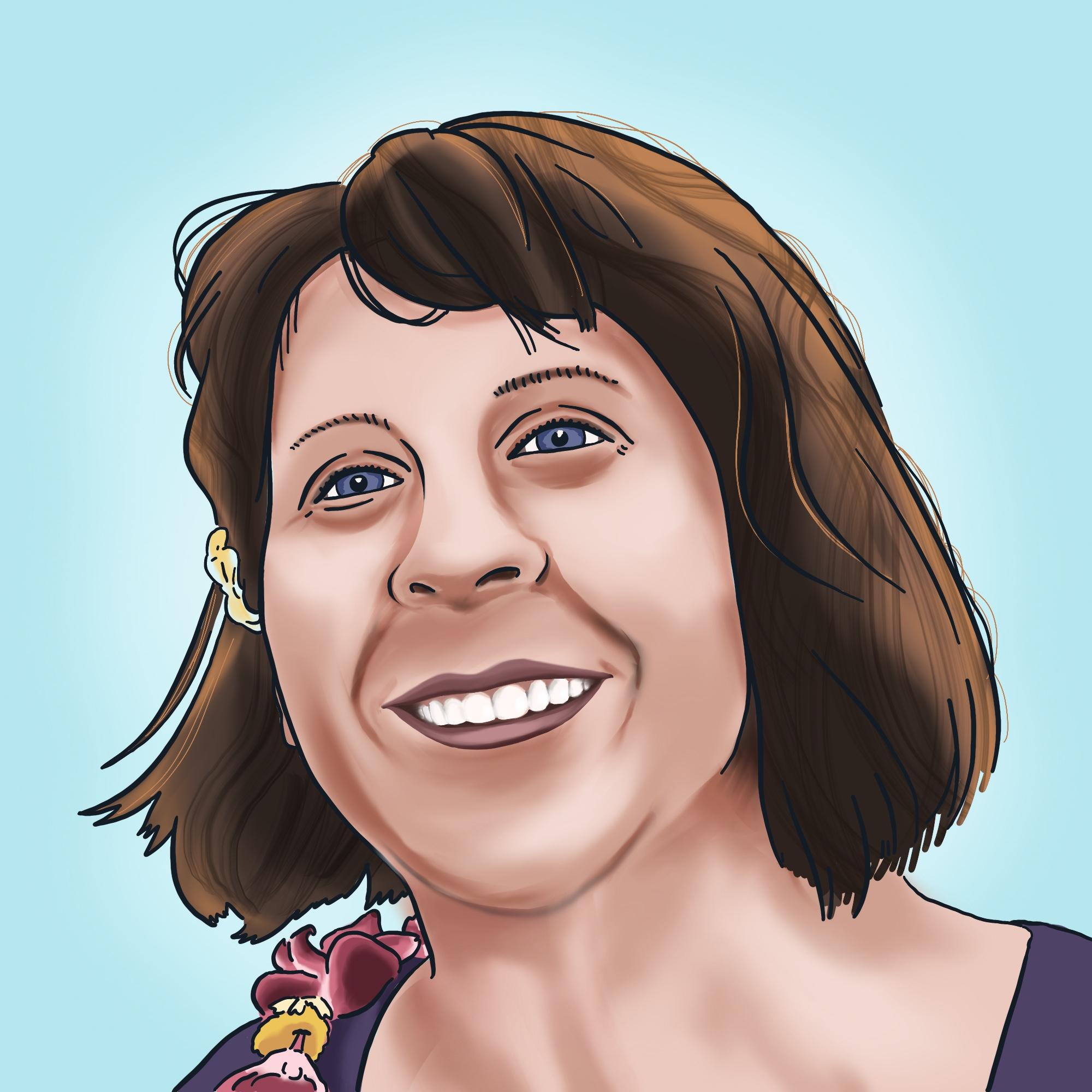 Illustration of Paula Henn