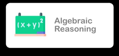 Algebraic Reasoning Icon