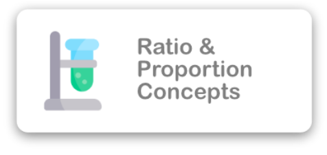 Ratio & Proportion Concepts Icon