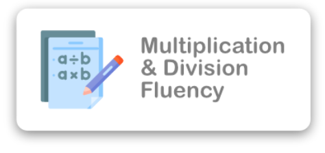 Multiplication & Division Fluency Icon